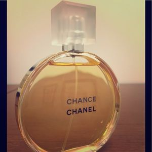 Chanel Chance Eau de toilette 3.4 Oz.  New!